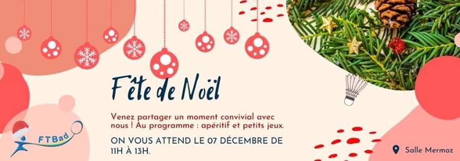 Fête de Noël – samedi 7 décembre